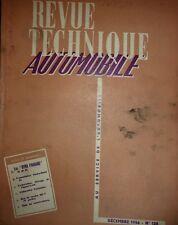 Revue technique PANHARD DYNA ( 1956 1957 ) RTA 128 1956 TRANSMISSION HYDRAMATIC