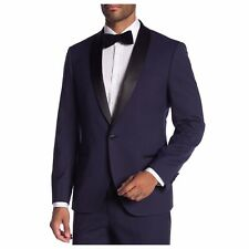 NEW Savile Row Purple Varick Slim-Fit Tuxedo Jacket 46R