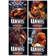 WARS TCG - Incursion Cards Starter Deck Set (4) (Decipher) #NEW