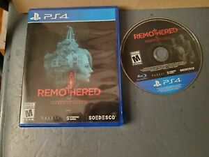 Remothered Tormented Fathers Standard Edition Playstation 4 PS4 Complete TesteD