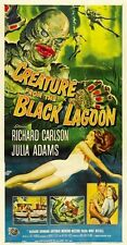 Creature from the Black Lagoon (1954) Vintage Horror Movie Repro 12x18 Poster