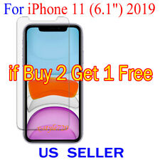 """1x Clear Screen Protector Guard Cover Film For Apple iPhone 11 ( 6.1"""" )  2019"""