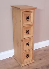 Mercers Furniture® Corona Mexican Pine 4 x 1 CD Unit