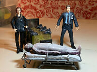 "VINTAGE X-Files Mulder and Scully 6"" Action Figure with Body 1998"