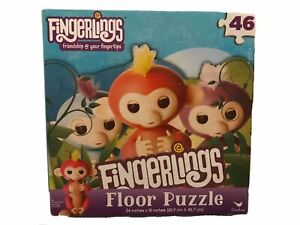 Fingerlings Friendship @ Your Fingertips Floor Puzzle 46 Piece Set Easter NEW