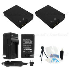 2X EN-EL12 Battery + Charger for Nikon Coolpix S6000 S6100 S6200 S6300 S8000