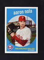 2018 Topps Archives Base 1959 #56 Aaron Nola