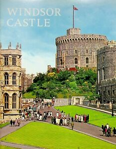 Vintage 1971 Windsor Castle Tour Color Brochure