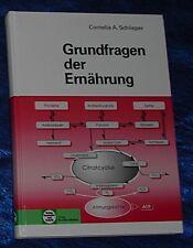 Grundfragen der Ernährung - Buch von Cornelia A. Schlieper