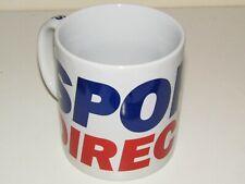 Sports Direct Large Ceramic Mug. Brand New In Box White/Blue/Red 20oz 1pint NEW