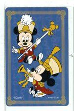 "Single Card Disney Art ""Musical Mickeys"" Playing Card, MMC-1-47 A in Disney Catg"