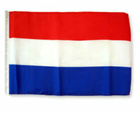 "12x18 12/""x18/"" Netherlands Holland Stick Flag wood staff Premium Polyester"