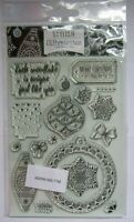 Hunkydory-Stylish Silhouettes-Christmas Clear Stamp Set-Card Making-Crafting-New