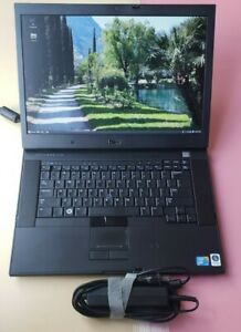 Dell Latitude E6500 Core 2 Duo 2.80Ghz 2GB 160GB NVIDIA QUADRO WEBCAM 1440x900