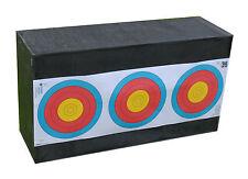 Yate Bogensport Zielscheibe Schaumstoff Sandwich Plus 66 x 36 x 21cm bis 60ibs