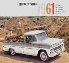 CHEVROLET 1961 Truck Sales Brochure 61 Chevy Pick Up