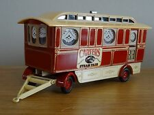 CORGI SHOWMANS CLASSICS CARTERS FAIR CARAVAN TRUCK TRAILER MODEL 16501 1:50