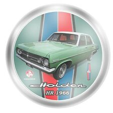 121687 HOLDEN HR 1966 COLLECTOR PLATE CERAMIC IN BOX CAR MOTORING GIFT