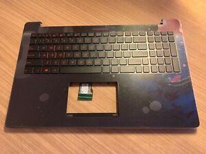NEW ASUS N501JW Topcase Palmrest W/ Backlit US Keyboard Speakers 90NB0873-R31US0