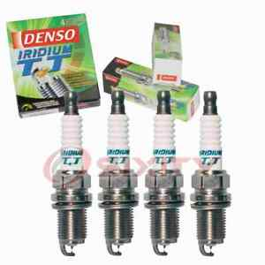 4 pc Denso Iridium TT Spark Plugs for 1993-1998 Saturn SC2 1.9L L4 Ignition pg