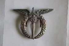 CZECHOSLOVAKIA CZECHOSLOVAKIAN WW2 AIR FORCE PILOT'S BREAST BADGE QUALITY COPY