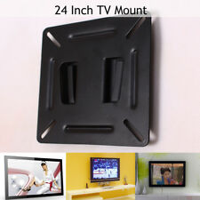 Home TV Wall Bracket Mount Monitor Hanging Holder for LCD 19 20 21 23 24''