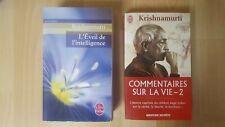 Krishnamurti / L éveil de l intelligence /Commentaire sur la vie-2