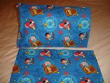 Jake & The Never Land Pirates Cotton Fabric Toddler/Travel Size Pillowcase (1)