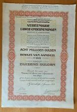 Vereenigde Lawoe-ondernemingen - 's-Gravenhage
