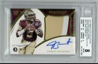 Jameis Winston Immaculate RPA BGS 8 /99 Saints FSU Florida St