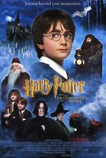 Harry Potter and the Sorcerer's Stone Original Double Sided Movie Poster 27x40