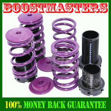 1995-1999 Mitsubishi Eclipse Purple Coilover Lowering Spring Kits Adj.