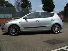 Seitenschutzleisten Hyundai i30  2007-2011, schwarz F19
