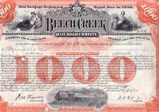 Beech Creek Railroad Company  1928