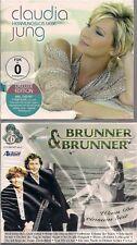 4 CD + DVD Claudia Jung + Brunner & Brunner `Hemmunglos Liebe + Wenn Du ...` Neu