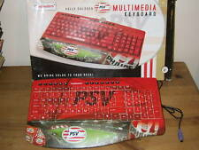 Greybusters Official Psv Eindhoven Pc Keyboard- New