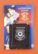 FORUM HOTTIE POLICE GEM DECORATED SUMMONS BOOK ADULT COSTUME ACCESSORY 60174