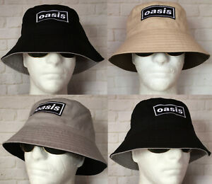 OASIS EMBROIDERED RENI BUCKET HAT UNI STUDENT CITY OF MANCHESTER SUN FISHING
