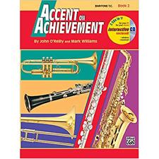 Alfred Publishing Co. 0018268 Accent On Achievement Volume 2 Baritone T.C.