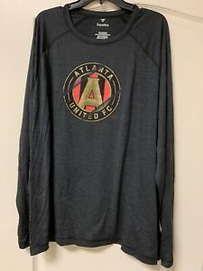 NEW - Men's Atlanta United Fanatics Long Sleeves Active Shirt - 3XL - MSRP $35