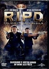 R.I.P.D. POLIZIOTTI DALL'ALDILA'  - DVD NUOVO E SIGILLATO, EDIZIONE ITALIANA