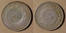 """Costa Rica:1 Col 1923/1890 50 Ct  """"9"""" Near """"8"""" CH.AU # 163 IR1980"""