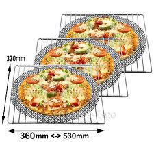 3 X Universal verstellbar ausziehbar Regale Ofen Herd Regal + Pizza Mesh