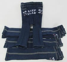 Leggings Bambine 5 Pair Commercio all'INGROSSO LOTTO BLU NAVY DENIM Color pants