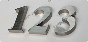 House/ Street Number- Stainless Steel Number /3D Sign Letter-200mm High