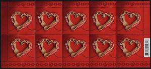 Slovenia 1108 sheet MNH Marriage Spoons, Heart