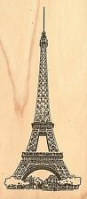 Eiffel Tower Paris Travel Wood Mounted Rubber Stamp JUDIKINS, NEW - 1867F