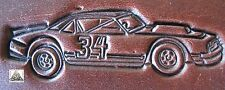 Stock Car Nascar Racing Embossing Plate Leather Stamp #4