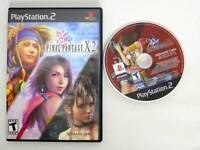 Final Fantasy X-2 game for Sony PlayStation 2 -Game & Case