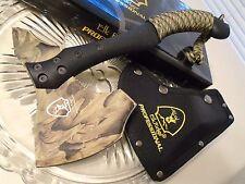 "Elk Ridge Professional 5mm Tang Camo Tomahawk Axe Knife Spike EP-AXE1CA 12"" OA"